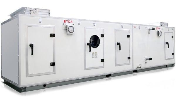 Секционные вентиляционные установки TICA